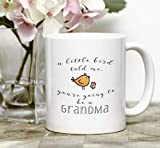 Best The Grandparent Gift Aunt Mugs - Pregnancy Reveal Mug/New Grandma Mug/Custom Pregnancy Reveal to Review