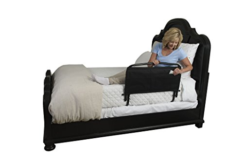 Stander 30'' Safety Adult Bed Rail & Padded Pouch- Home Elderly Bedside Safety Rail + Swing Down Assist Handle by Stander (Image #3)