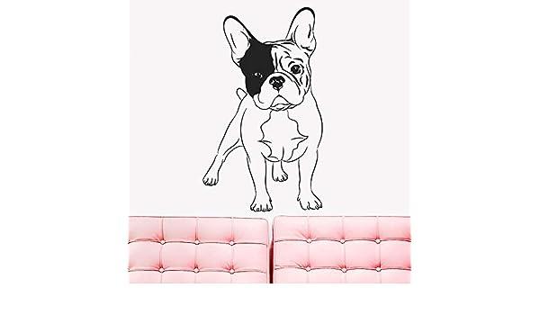 Mascota Tatuajes de Pared Extraíble Inglés Bulldog Perros Hogar ...