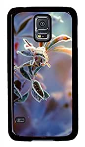Hoar-Frost Falls Black Hard Case Cover Skin For Samsung Galaxy S5 I9600