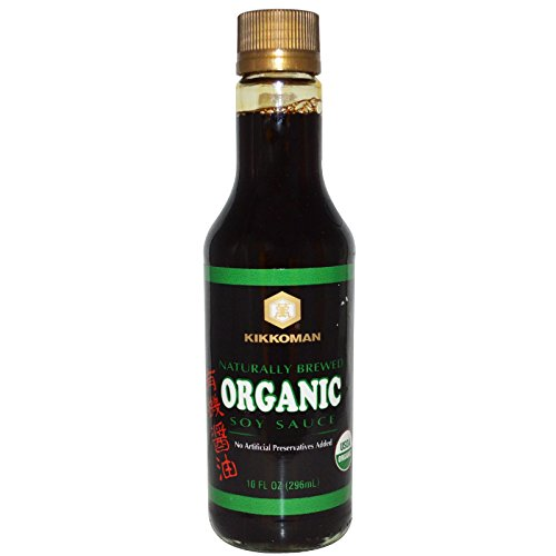 Sauce Organic Asian (Kikkoman, Organic Soy Sauce, 10 fl oz (296 ml) - 2pcs)