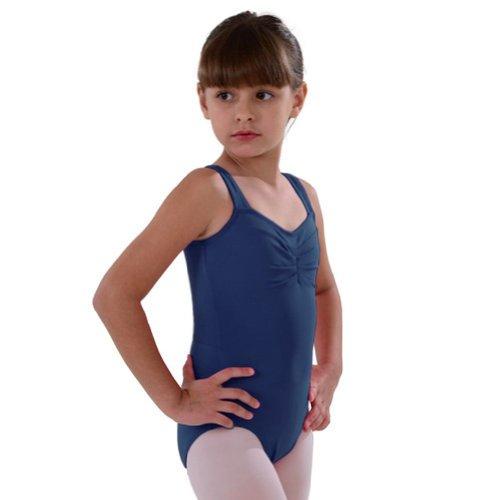 So Danca Navy Pinched Neckline Dance Leotard Toddler Girls 2-4T - Pinched Neckline Dance Leotard