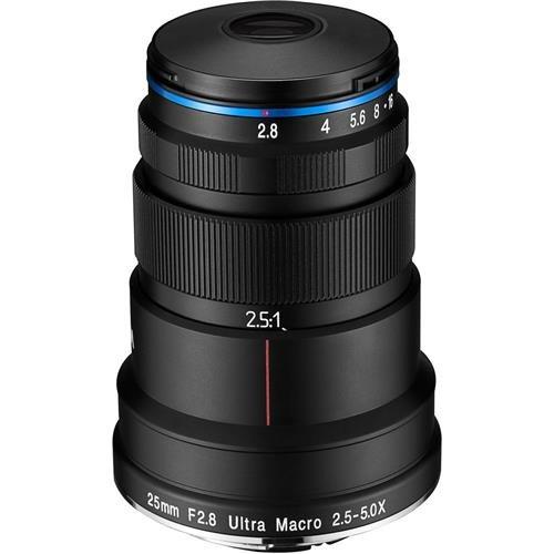 Price comparison product image Venus Optics Laowa 25mm f / 2.8 2.5-5X Ultra-Macro (Nikon F Mount)