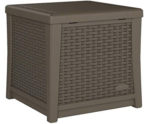 Suncast Elements Coffee Table With Storage Java: Suncast Elements End Table With Storage