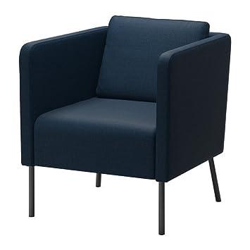 Ikea Ekerö - Sillón, Skiftebo Azul Oscuro: Amazon.es: Hogar