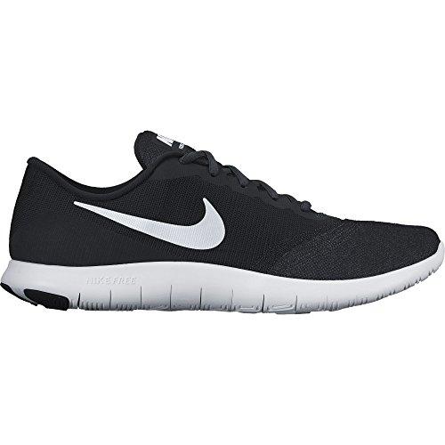 NIKE Women's Flex Contact Black/White/Anthracite Running Shoe 10 Women US
