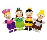 Wesco 33405 17 in. L x 8 in. H x 12 in. W Cinderella Puppets