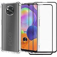 Capa Anti Impacto Xiaomi Poco X3 Pro + Película 5D Nano Cerâmica + Kit Aplicação [Coronitas Acessorios]