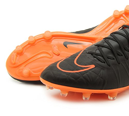 Nike Hypervenom Phinish Leather Fg, Botas de Fútbol para Hombre - BLACK/BLACK-BLACK