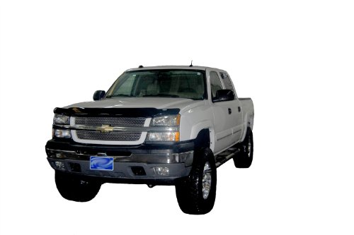 Auto Ventshade 23725 Bugflector Dark Smoke Hood Shield for 2005-2006 Chevrolet Silverado 1500, 2500HD, 3500