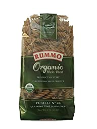 Rummo - Organic Whole Wheat Fusilli -1 lb bag (Pack of 5)