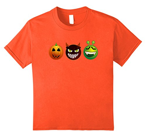 Crazy 8 Halloween Costumes (Kids Halloween Costume for girls, boys. Crazy Nerdy Tee 8 Orange)