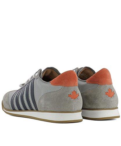 Dsquared2 Herren Snm041983900001m066 Grau Stoff Sneakers