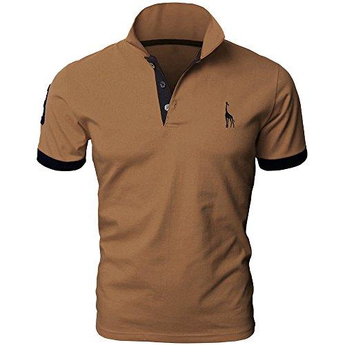 (トレジャーボックス) Treasure Box ゴルフウェア メンズ ポロシャツ 半袖 刺繍