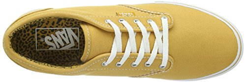 Vans Damen Atwood Low Canvas Skate Schuhe, Traube / Weiß (VN-0U4IATN) golden