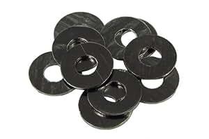 Unterlegscheibe DIN 125 M3 schwarz eloxiert (10er pack)