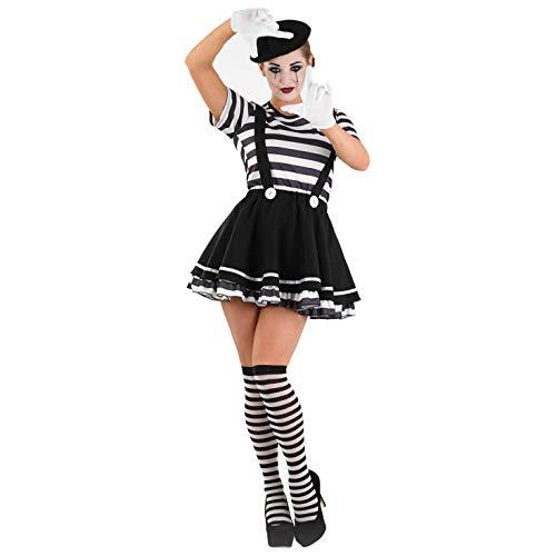 fun shack Womens Mime Artist Dress, Medium]()