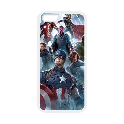 Avengers Age Of Ultron coque iPhone 6 Plus 5.5 Inch Housse Blanc téléphone portable couverture de cas coque EBDOBCKCO12244