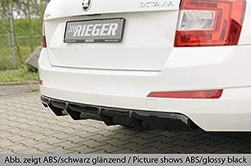 Rieger Trasero Uso Aspecto de Carbono para Skoda Octavia (5E): 02.13 - 01.17 (hasta Facelift), 02.17 (a Partir de Facelift): Amazon.es: Coche y moto
