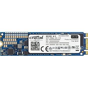 Crucial MX300 525GB 3D NAND SATA M.2 (2280) Internal SSD - CT525MX300SSD4