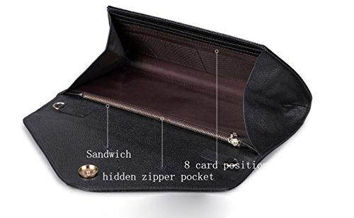 de Or sac d'épaule avec en SLR un femme printemps été pour Pochette forme d'enveloppe de Pochette crocodile Dîner messager wAUYf