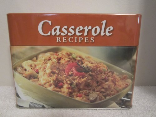 Collectible Tin with Casserole Recipe Cards by Various (2013-05-04)