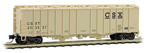 50 Airslide Covered Hopper - Micro-Trains MTL N-Scale 50ft Airslide Covered Hopper CSX Transportation #203437