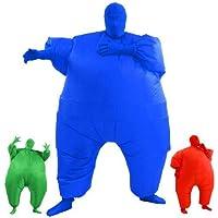 AirSuits inflable grasa Chub Traje Segunda Piel Disfraz del partido del vestido - AZUL