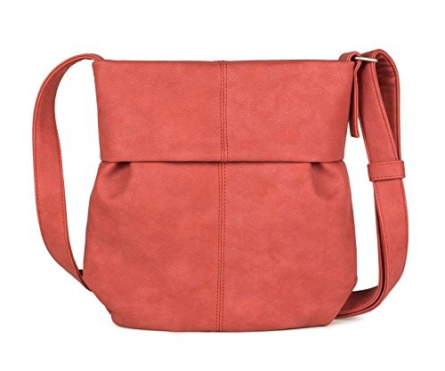 31 Zwei shopping Red bag cm Mademoiselle M10 shoulder 4Xq14r