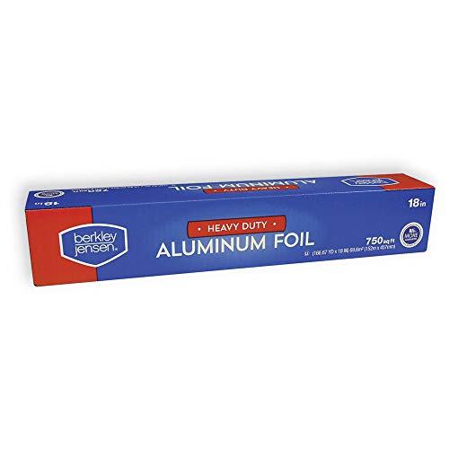 - Durable Heavy Duty Aluminum Foil Roll, 18 Width x 500' Length