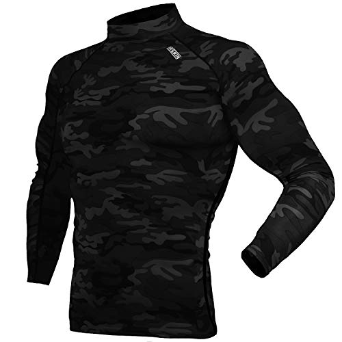 DRSKIN UV Sun Protection Long Sleeve Top Shirts Skins Tee Compression Base Layer (SMBB34, ()