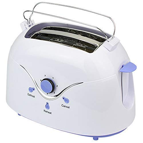 ykw Automatic Toaster,Home Breakfast Stainless Steel 2 Slice Baking Cooking