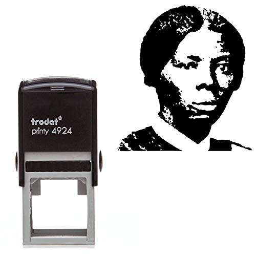 Harriet Tubman Rubber Stamp- Square Self Inking Stamp