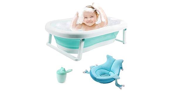 3-en-1 Bañera para bebés Bañera plegable portátil para niños ...