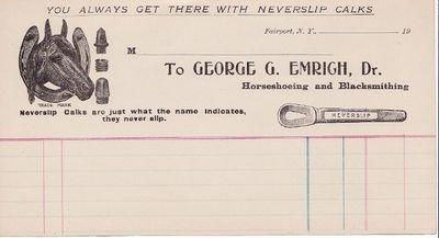 Review 1900 George Emrich Blacksmith