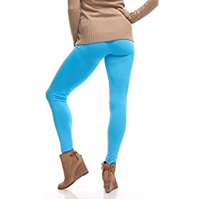 - 41CJvQehI9L - LMB | Seamless Full Length Leggings | Variety Colors | One Size