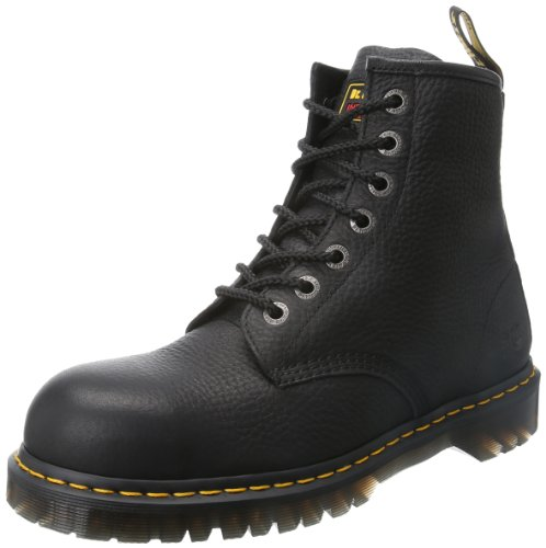 Dr. Martens Men's Icon 7 Eye Boot,Black,10 UK/11 M US (Leather Icon Boot)