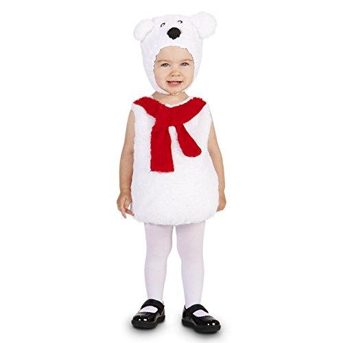 Polar Bear Baby Halloween Costume (Cozy Polar Bear Infant Costume 12-18M)