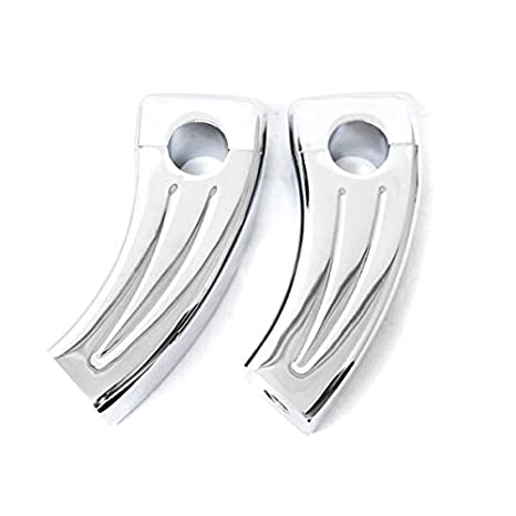 """Custom Chrome Motorcycle 1/"""" Handlebar 3.5/"""" Risers For Victory Cross Country"""