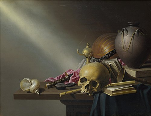 Oil Painting 'Harmen Steenwyck Still Life An Allegory Of The Vanities Of Human Life' 20 x 26 inch / 51 x 66 cm , on High Definition HD canvas prints - Coupon Metals Speedy