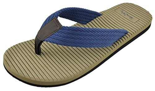 Panama Jack Mens Avslappnade Sandal Flip Flops Indigo
