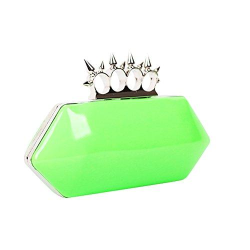 Flada - Cartera de mano para mujer verde verde mediano verde