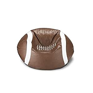 Ace Casual 96-inch Vinyl Sports Bean Bag Chair (Football) (1)