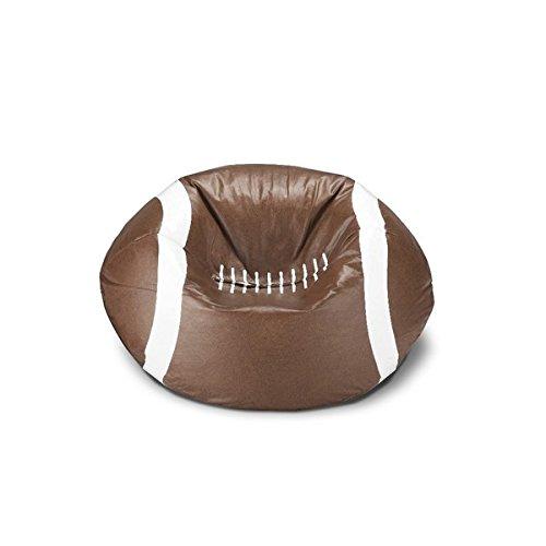 Ace Casual 96-inch Vinyl Sports Bean Bag Chair (Football) (Football Bean Bag Chair)