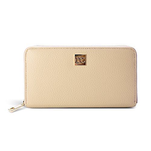 RC Tan Leather Wallet: By Rachel Cruze