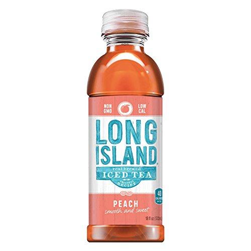 Long Island Iced Tea 18Oz  Peach  Pack Of 24