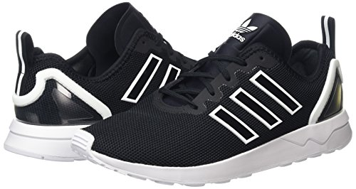 Unisex adulto Advanced Black core Adidas Nero Da Basse White Black Ginnastica core ftwr Scarpe Zx Flux qWwC80a