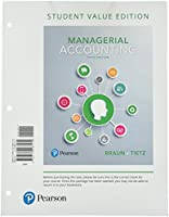 Managerial Accounting, Student Value Edition (5th Edition)
