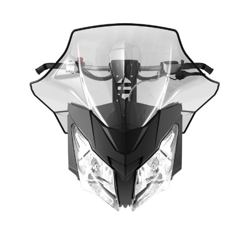 Ski-Doo 860200602 Sport Performance Flared High Windshield by Ski-Doo