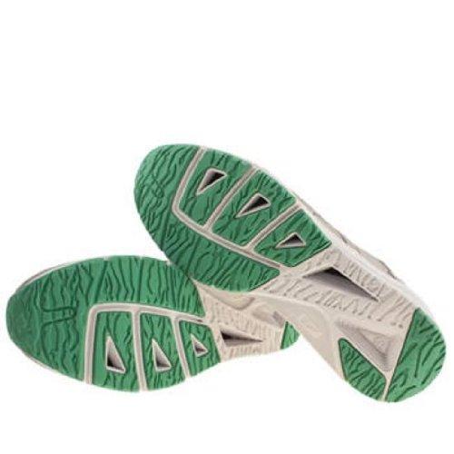 Onitsuka Tiger Shaw Runner Gris Blanco Verde Gamuza Nuevos Hombres Formadores Zapatos Botas